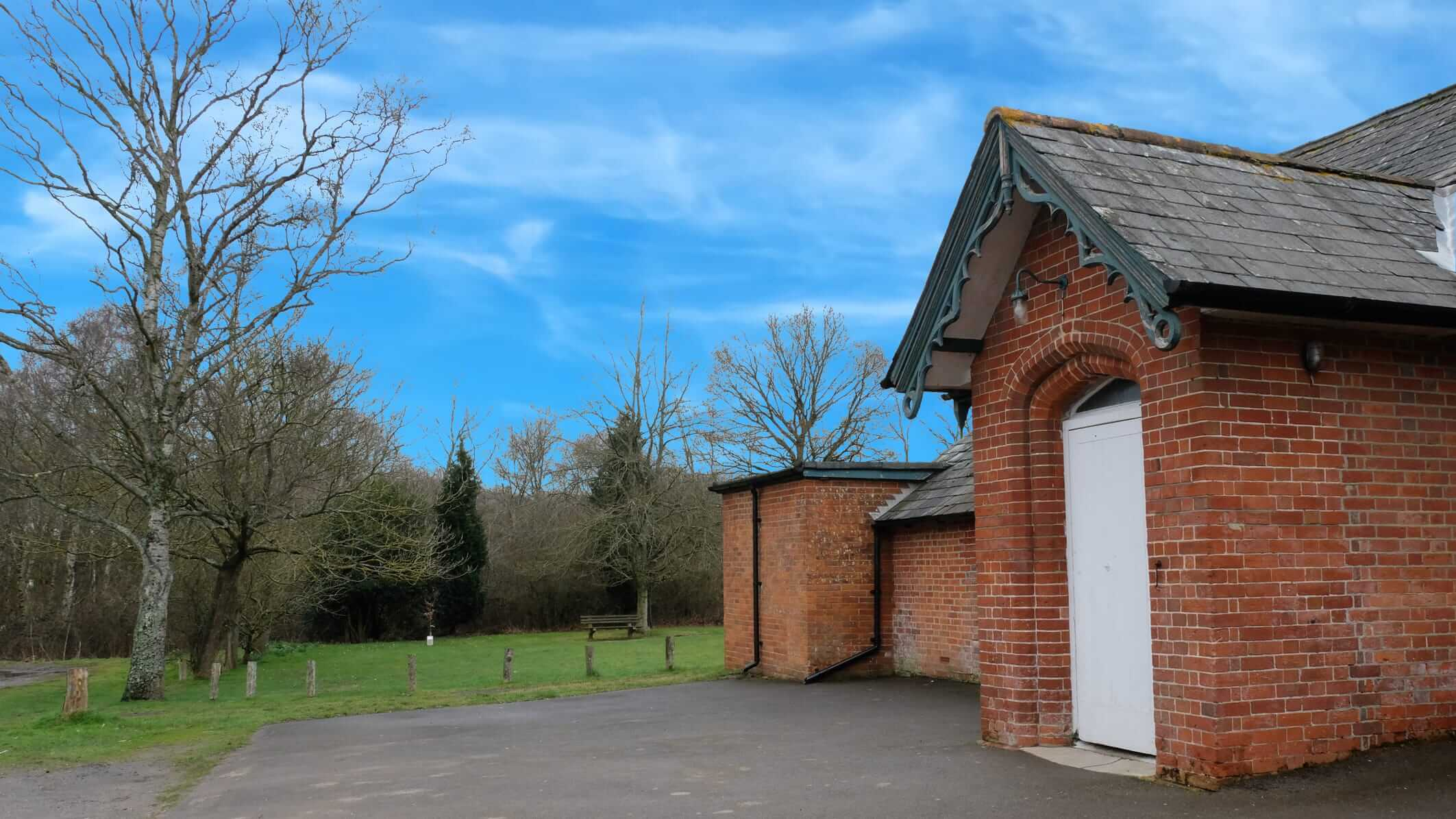 Plaitford Village Hall main door