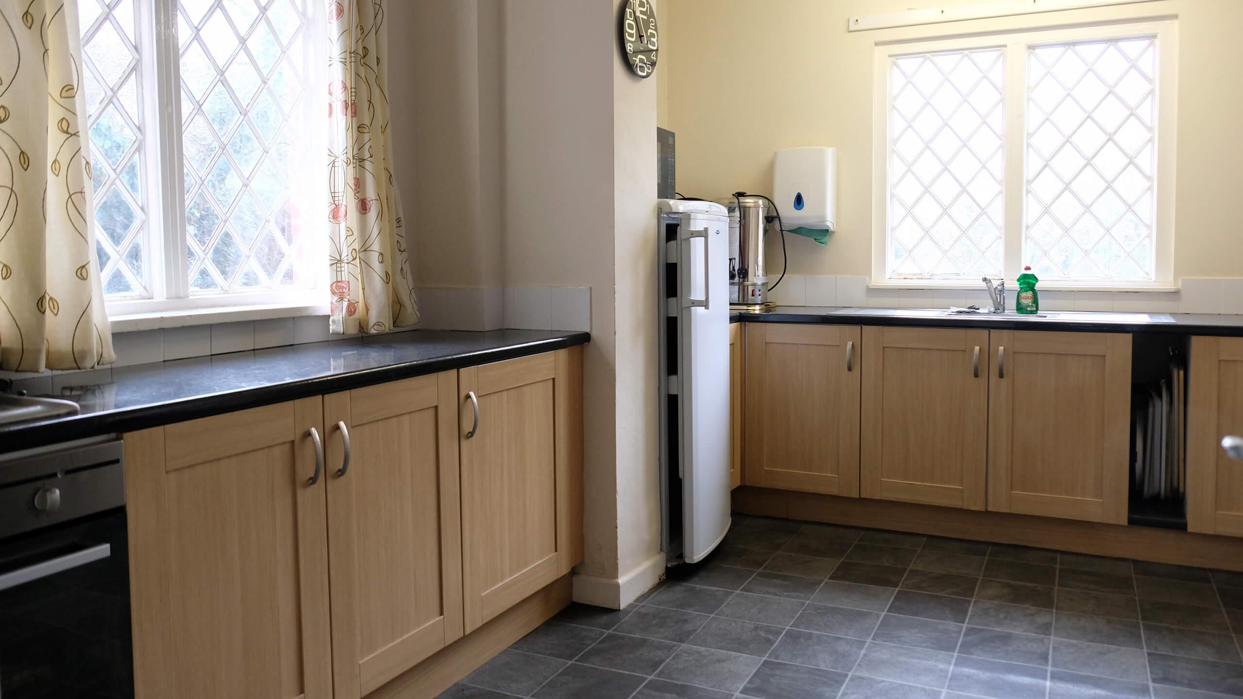Plaitford Village Hall kitchen